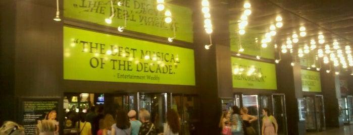 Gershwin Theatre is one of Nederlander Broadway Theatres.