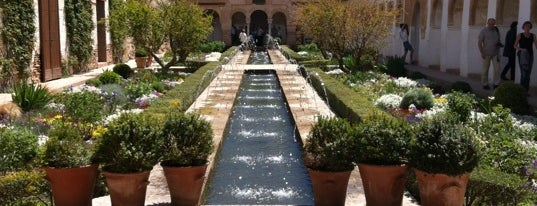 Palacio del Generalife is one of EUROPE.
