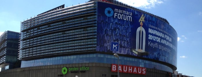 Marmara Forum is one of เที่ยว Istanbul's Shopping Malls.