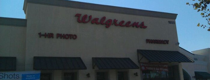 Walgreens is one of Los angeles/pasadena.