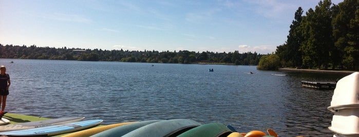Green Lake Park is one of Seattle's Best Great Outdoors - 2012.