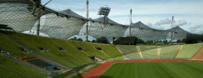 Olympiastadion is one of I Love Munich!.
