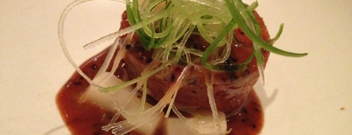 Benu is one of SF Chronicle Top 100 Restaurants 2012.
