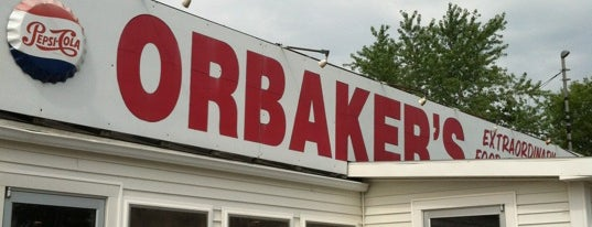 Orbakers Drive In is one of Cool places in NY (upstate).