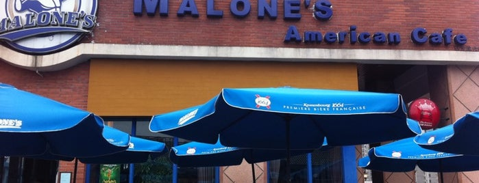 Malone's American Café is one of Favorite places.