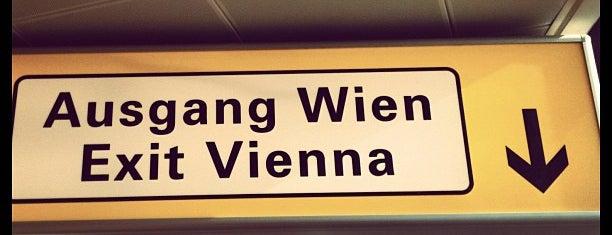 Viyana-Schwechat Havalimanı (VIE) is one of my living rooms.