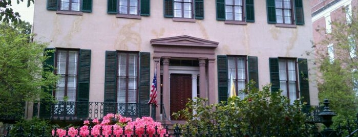 Andrew Low House Museum is one of Must-visit Museums in Savannah.