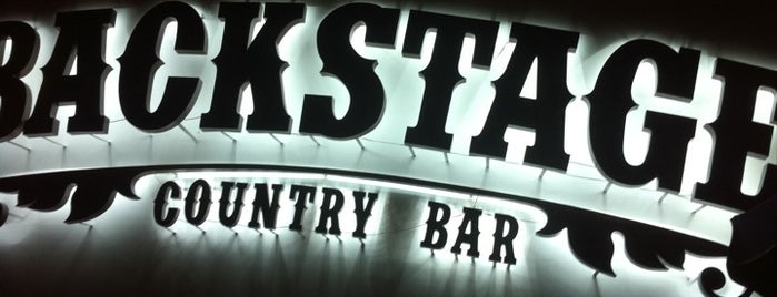 Backstage Country Bar is one of Lucas'ın Kaydettiği Mekanlar.