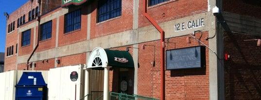 Zio's Italian Kitchen is one of สถานที่ที่ Earl ถูกใจ.