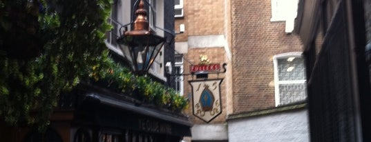 Ye Olde Mitre is one of London.