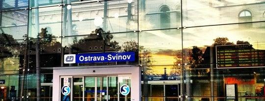 Železniční stanice Ostrava-Svinov is one of Locais curtidos por Veronica.
