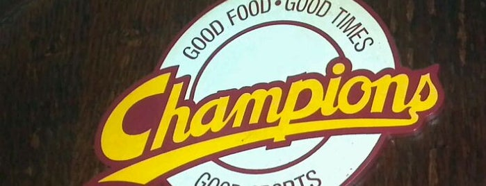 Champions Sports Bar & Grill is one of Uptown Charlotte Dining and Nightlife.