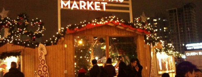 Vancouver Christmas Market is one of Orte, die Ken gefallen.