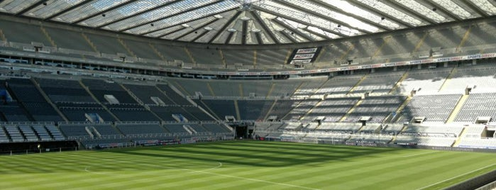 St James' Park is one of Soccer Stadiums.