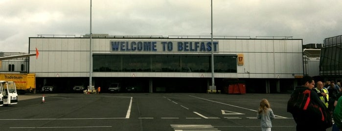 Belfast Int'l Airport (BFS) is one of Airports - Europe.