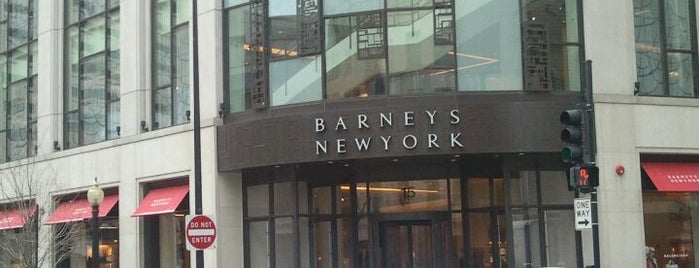 Barneys New York is one of This job has taken me to....
