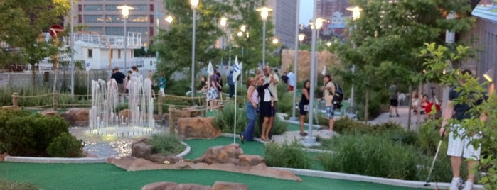 Pier 25 Mini Golf is one of Adult Camp!.
