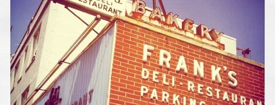 Franks Deli & Restaurant is one of Places to go to.