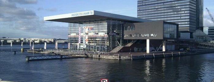 Muziekgebouw is one of Amsterdam.