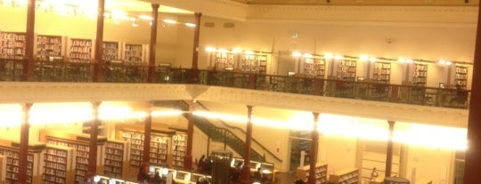 State Library of Victoria is one of Victoria.