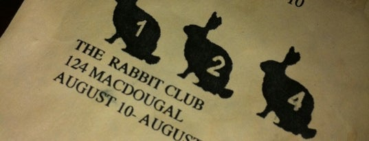 124 Old Rabbit Club is one of NYC Bars: To Go.