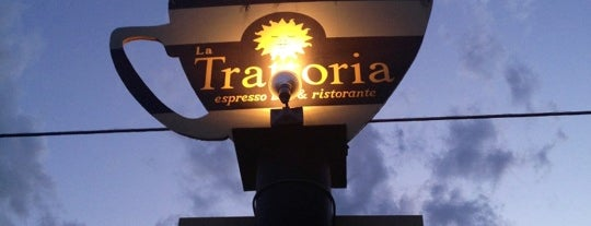 La Trattoria Cafe is one of MRF.