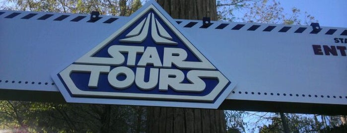 Star Tours is one of My vacation @Orlando.