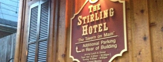 The Stirling Hotel is one of Andrew 님이 좋아한 장소.