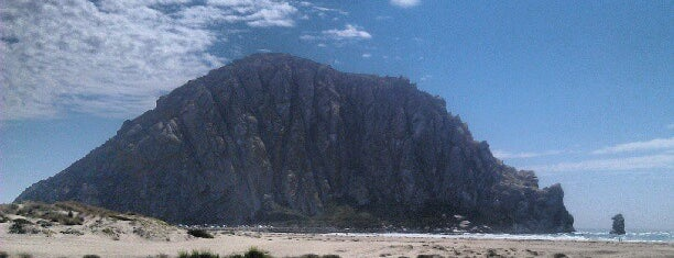 Morro Bay Beach is one of Cali Trip.