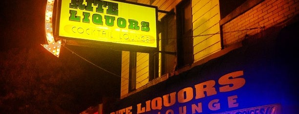 Rite Liquors is one of Authetic Bars.
