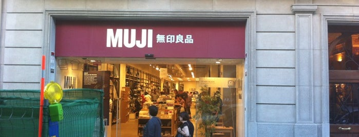 Muji is one of Barcelona.
