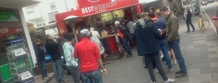 Best Worscht in Town is one of Frankfurt.