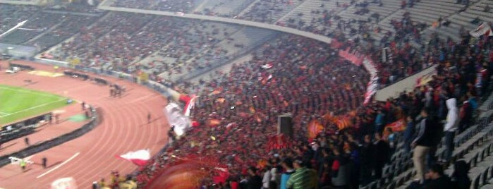 Cairo International Stadium is one of Orte, die Tarek gefallen.