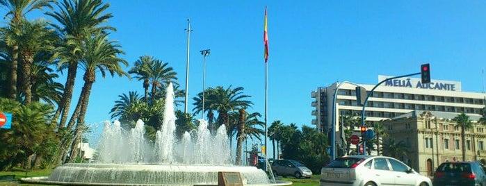 Plaza Puerta del Mar is one of Alicante #4sqCities.