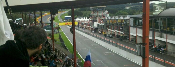 Circuit de Spa-Francorchamps is one of Formula 1 Tracks.