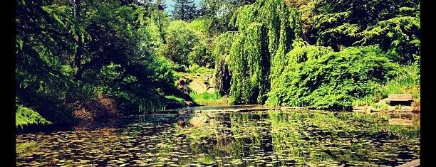 VanDusen Botanical Garden is one of Vancouver.
