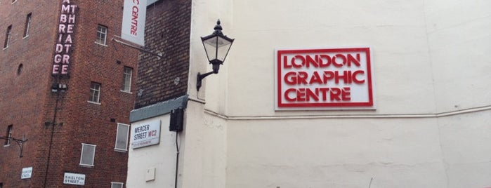 London Graphic Centre is one of Gespeicherte Orte von PenSieve.