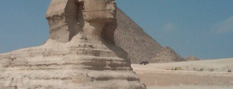 Great Sphinx of Giza is one of World Heritage Sites List.