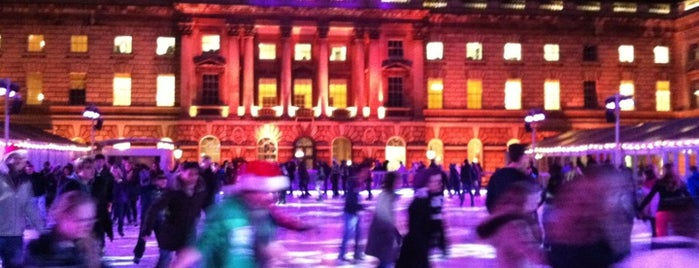 SKATE at Somerset House is one of London <3.