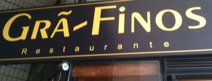 Grã-Finos Restaurante is one of Fábio Marceloさんのお気に入りスポット.