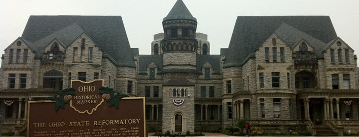 Ohio State Reformatory is one of Paranormal Sights.