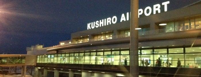 Tancho Kushiro Airport (KUH) is one of 高井'ın Beğendiği Mekanlar.