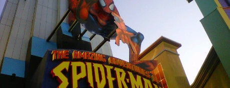 The Amazing Adventures of Spider-Man is one of My vacation @Orlando.