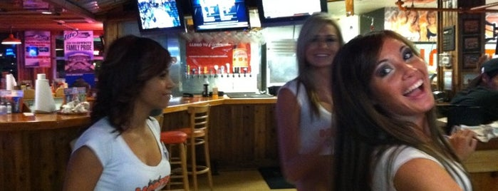 Hooters is one of Hungry in the DTX (Dallas, Tx area).