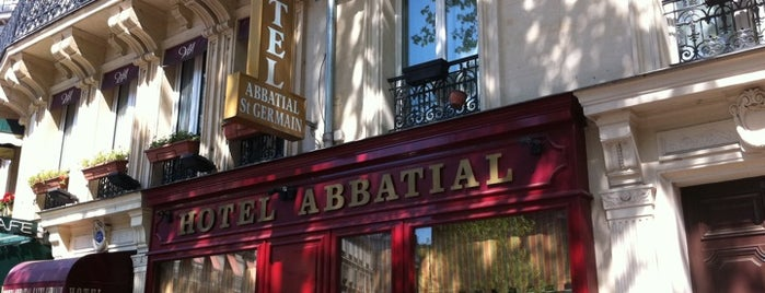 Hôtel Abbatial Saint-Germain is one of Ali 님이 저장한 장소.
