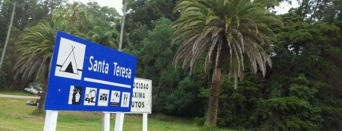 Parque Nacional Santa Teresa is one of Tempat yang Disukai Pedro.