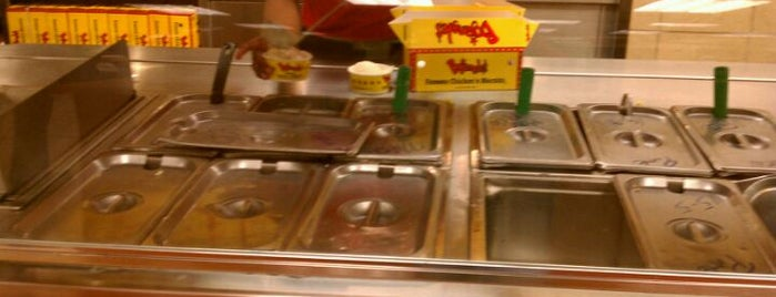 Bojangles' Famous Chicken 'n Biscuits is one of Orte, die Bill gefallen.