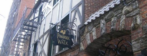 Pomander Walk is one of IWalked NYC's Upper West Side (Self-guided tour).