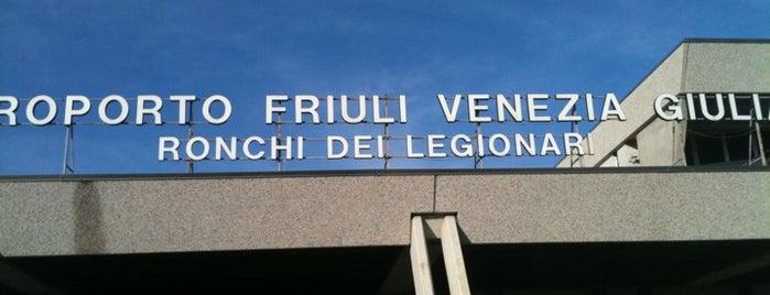 """Aeroporto del Friuli Venezia Giulia Ronchi dei Legionari """"Pietro S. di Brazzà"""" (TRS) is one of Part 1~International Airports...."""