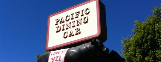 Pacific Dining Car is one of Pacific Old-timey Bars, Cafes, & Restaurants.